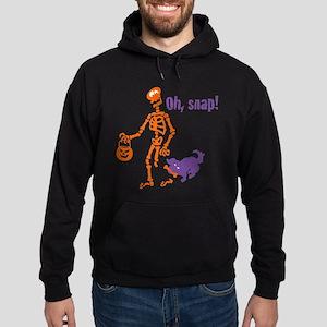 Oh, Snap Skeleton Hoodie (dark)