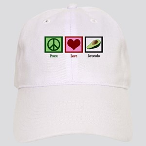 Peace Love Avocado Cap
