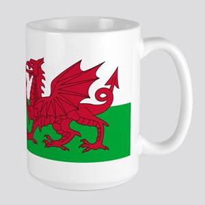 Welsh Flag Large Mug
