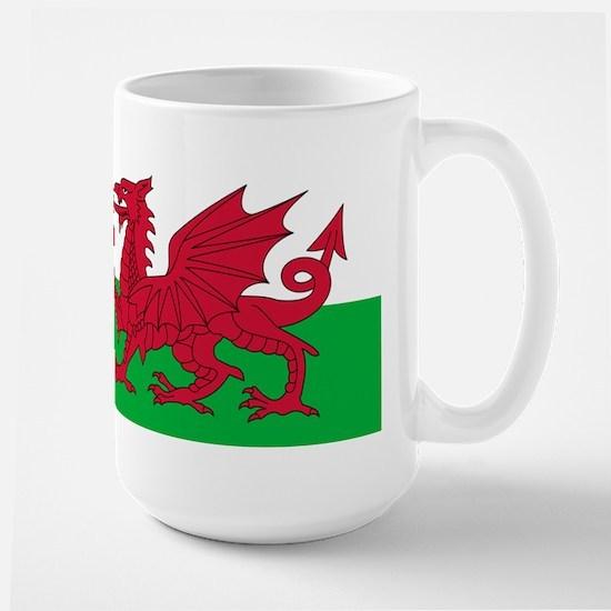 Welsh Flag Large Mug