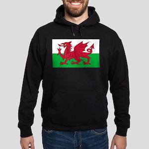 Welsh Flag Hoodie (dark)