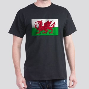 Welsh Flag Dark T-Shirt