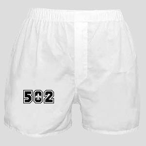 502 Black Boxer Shorts
