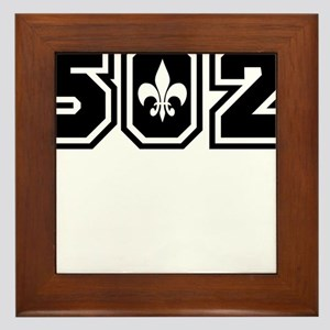 502 Black Framed Tile