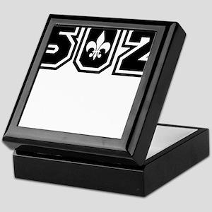 502 Black Keepsake Box