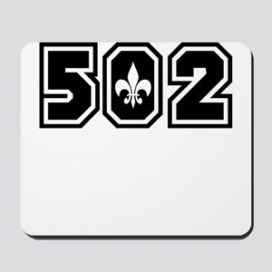 502 Black Mousepad
