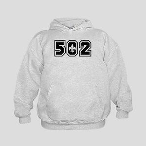 502 Black Kids Hoodie