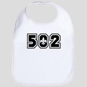 502 Black Bib