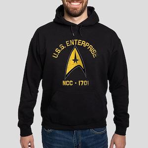 U.S.S. Enterprise Retro Hoodie (dark)