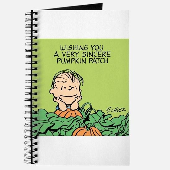 Sincere Pumpkin Patch Journal