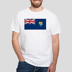 St. Helena Flag White T-Shirt