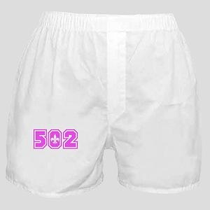 502 Pink Boxer Shorts
