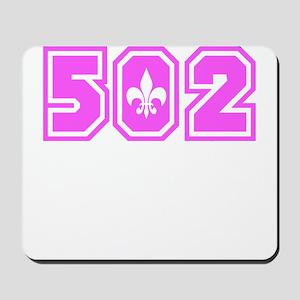 502 Pink Mousepad