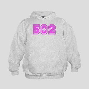 502 Pink Kids Hoodie