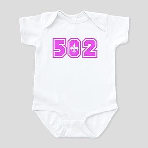 502 Pink Infant Bodysuit