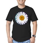 Daisy Men's Fitted T-Shirt (dark)