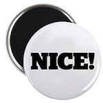 "NICE 2.25"" Magnet (10 pack)"