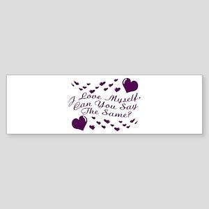 I Love Myself Sticker (Bumper)
