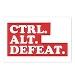 CTRL. ALT. DEFEAT. Postcards (Package of 8)