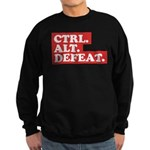 CTRL. ALT. DEFEAT. Sweatshirt (dark)