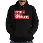 CTRL. ALT. DEFEAT. Hoodie (dark)