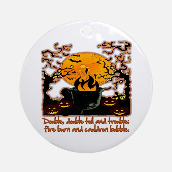 Cauldron Round Ornament