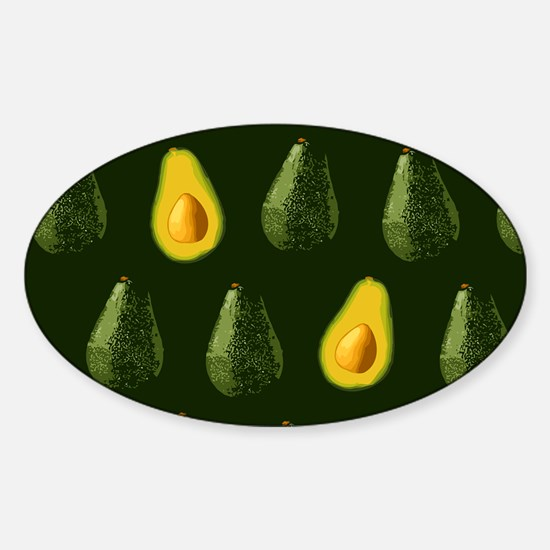 Avocados Sticker (Oval)