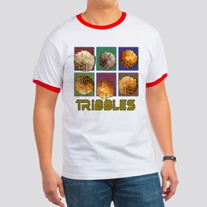 Tribbles Star Trek Pop Art Ringer T