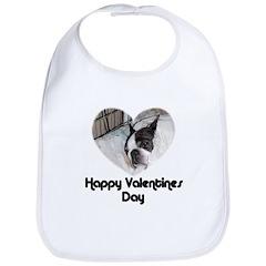 HAPPY VALENTINES DAY (BOSTON TERRIER) Bib