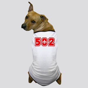 502 red Dog T-Shirt