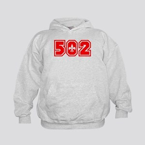 502 red Kids Hoodie