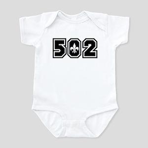 Black/White 502 Infant Bodysuit