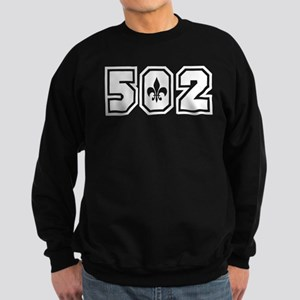 Black/White 502 Sweatshirt (dark)
