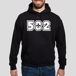 Black/White 502 Hoodie (dark)