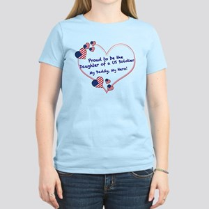 Proud of Dad, US soldier Women's Light T-Shirt