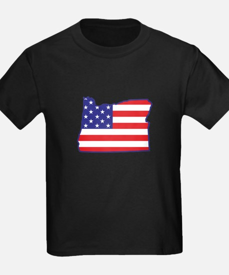 OR USA Flag Map 1 T
