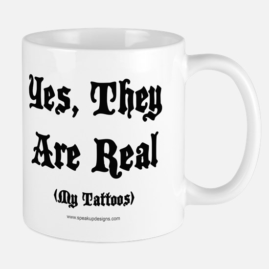 Yes, They Are Real Mug
