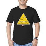 Distracted Men's Fitted T-Shirt (dark)