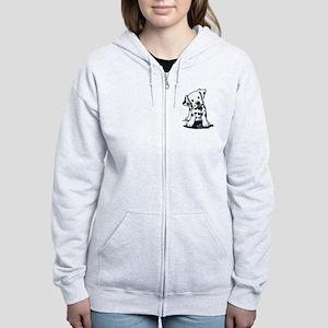 Dalmatian Women's Zip Hoodie