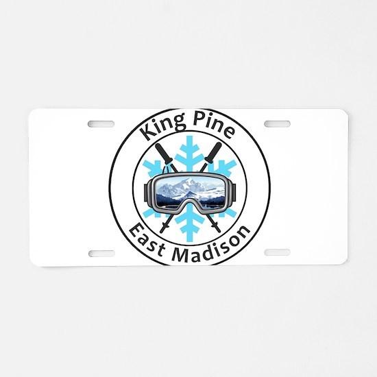King Pine - East Madison Aluminum License Plate