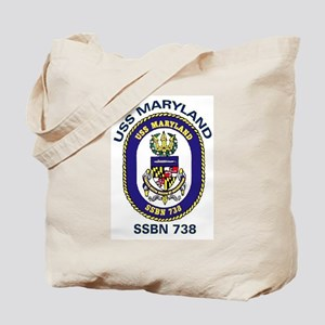 USS Maryland SSBN 738 Tote Bag
