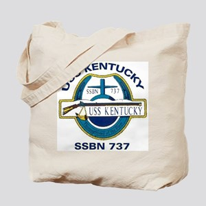 USS Kentucky SSBN 737 Tote Bag