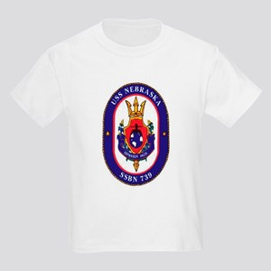 USS Nebraska SSBN 739 Kids T-Shirt