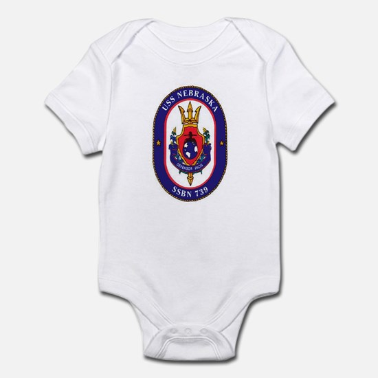 USS Nebraska SSBN 739 Infant Creeper