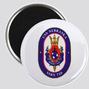 USS Nebraska SSBN 739 Magnet