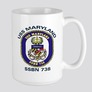 USS Maryland SSBN 738 Large Mug