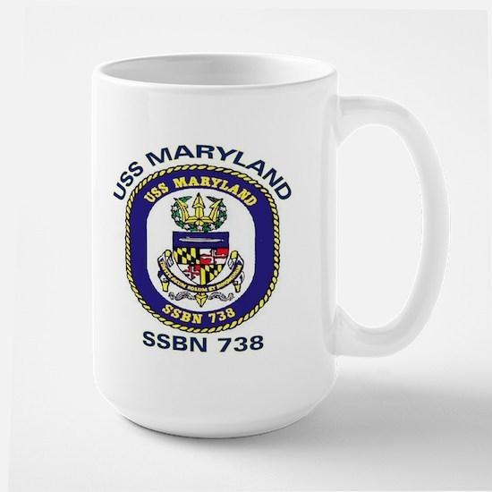 USS Maryland SSBN 738 Large Mug