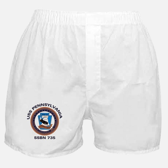 USS Pennsylvania SSBN 735 Boxer Shorts