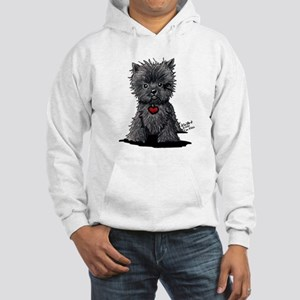 Affenpinscher Hooded Sweatshirt