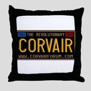Revolutionary Vintage Plate Throw Pillow